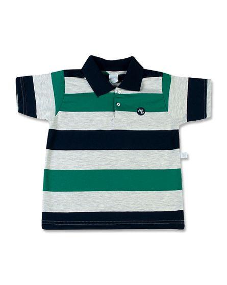 Camiseta-com-Gola-Cotton-Listrado-Andros-Marinho