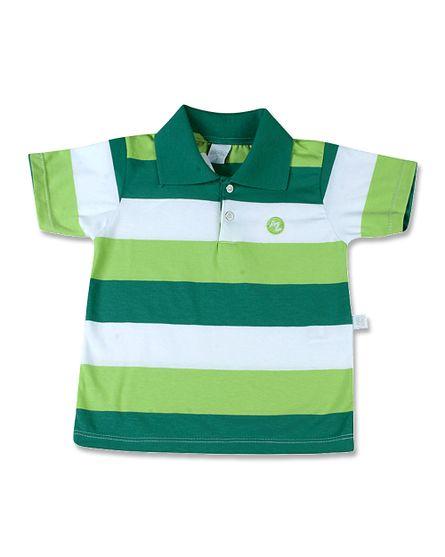 Camiseta-com-Gola-Cotton-Listrado-Dicavalcanti-Verde