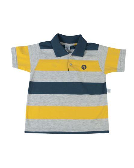 Camiseta-com-Gola-Cotton-Listrado-Andros-Grafite