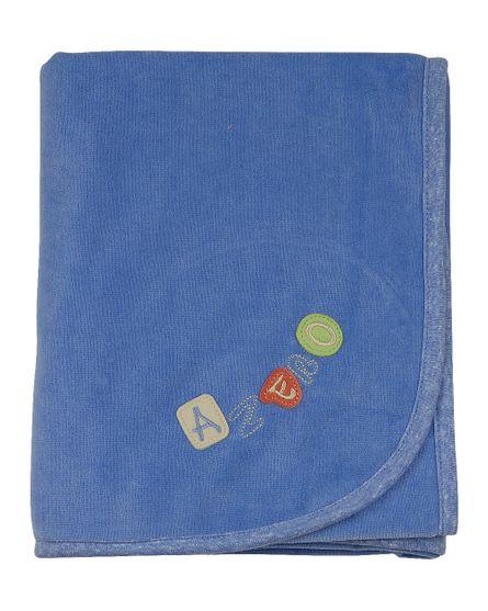 Manta-Bebe-Plush-Bordada-Azul-Medio-11400