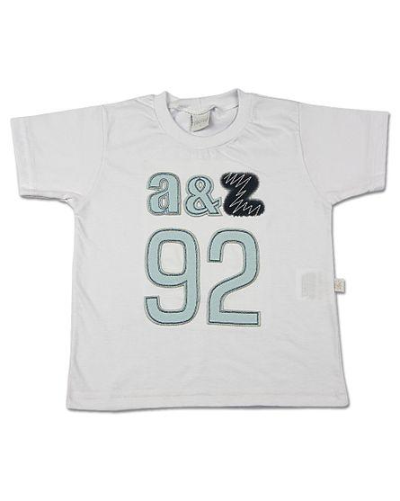 Camiseta-Infantil-Meia-Malha-A-Z-92-Branco-24604