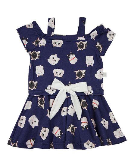 Vestido-Infantil-Malha-Estampa-Digital-Gatinhos-com-Lacinho-Marinho-23907