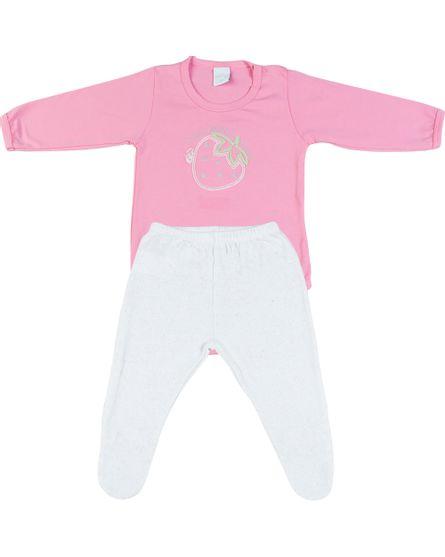 Pijama-Cotton-Morango-Rosa