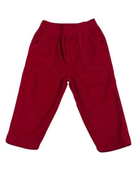 Calca-de-Malha-Plush-Cotele-Feminina-Vermelha