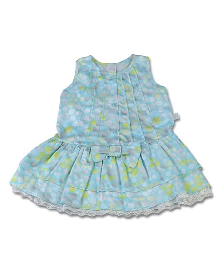Vestido-Infantil-Cetim-de-Algodao-Estampado-Bolas-Turquesa-3966