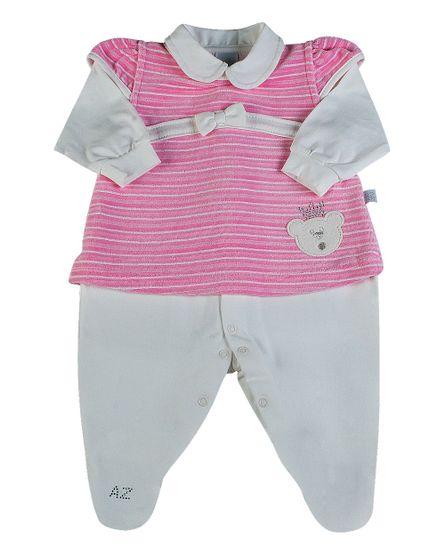 Macacao-Vestido-Bebe-em-Cotton-e-Plush-Listrado-Ursinha-Rosa-275