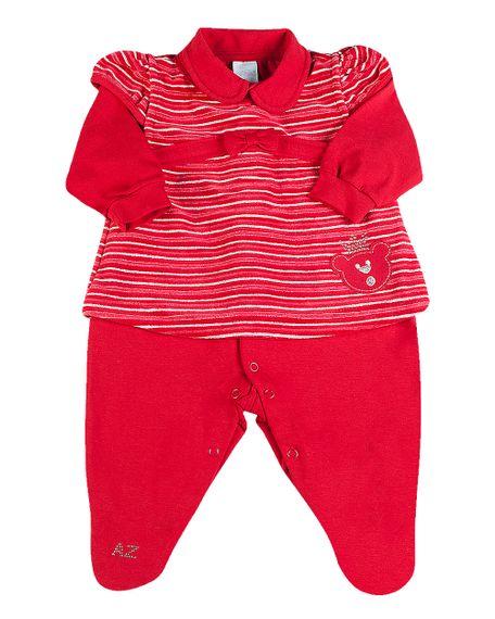 Macacao-Vestido-Bebe-em-Cotton-e-Plush-Listrado-Ursinha-Vermelho-275