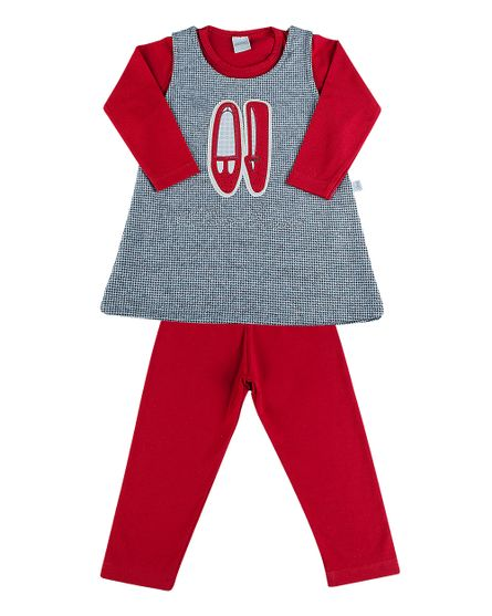 Vestido-Infantil-Malha-Pied-de-Poule-e-Cotton-Sapatinho-Vermelho-3515