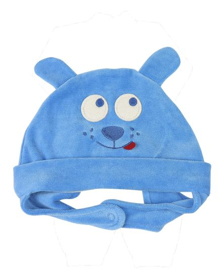 Touca-Bebe-de-Plush-de-Cachorrinho-10437-Azul-10437