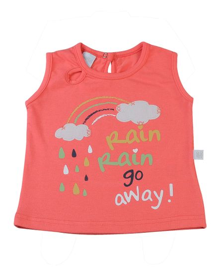 Camiseta-Infantil-Cotton-Rain-go-Away-Laranja-4315