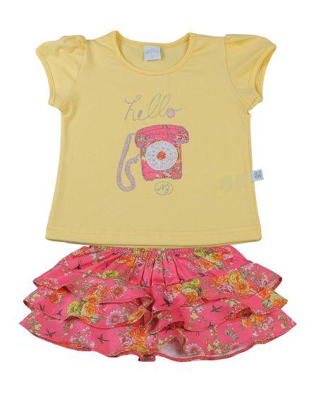 Conjunto-Infantil-Cotton-e-Cetim-de-Algodao-Estampa-Digital-Hello-Amarelo-3332