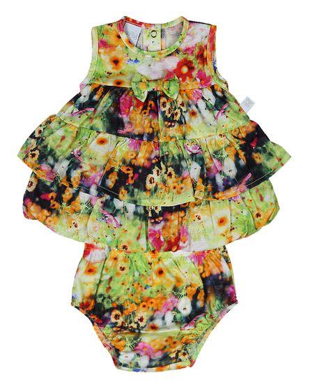 Conjunto-Vestido-Malha-Estampa-Floral-Digital-Amarelo
