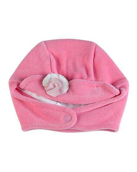 Touca-Bebe-Plush-Flores-Aplicadas-Rosa-10445