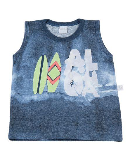 Camiseta-infantil-Malha-Reciclato-Manchada-Aloha-Marinho-4970