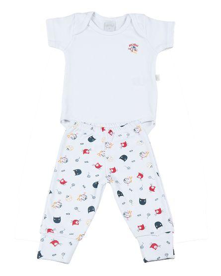 Pijama-Bebe-2-Pecas-Suedine-Estampado-Bichinhos-Marinho-7108