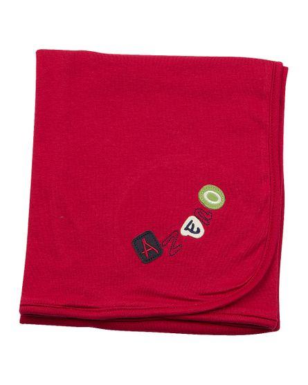 Manta-Dupla-Bebe-Suedine-Bordada-Vermelho-12003
