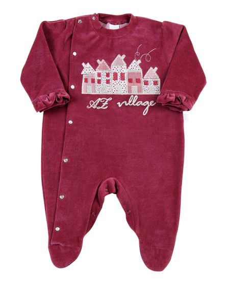 Macacao-Bebe-Plush-5-Casinhas-AZ-Village-Bordo-11208