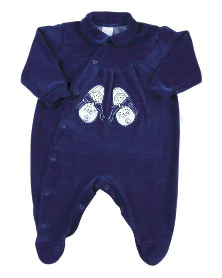 Macacao-Bebe-Plush-Sapatinho-com-Laco-Azul-Jeans-11209