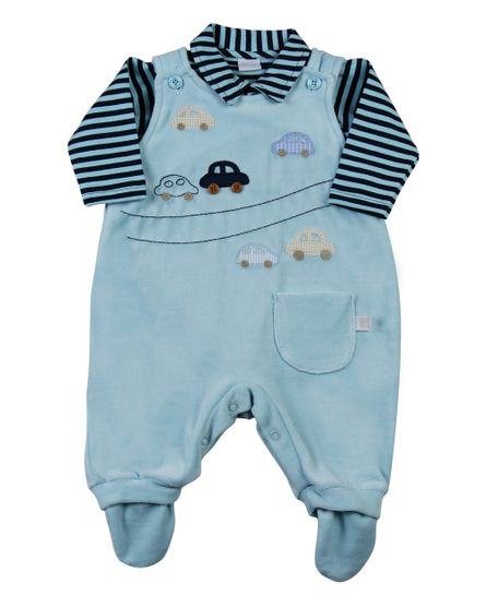 Salopete-Bebe-Plush-Cotton-Listrado-Carrinhos-Azul-11503