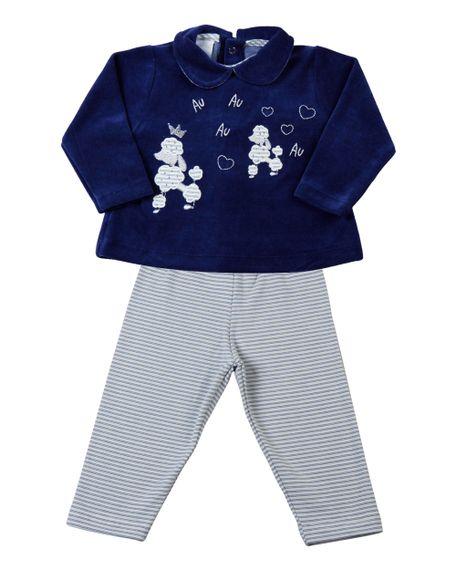 Conjunto-de-Bebe-Plush-e-Cotton-Poodles-Au-Au-Au--Azul-Jeans-13801