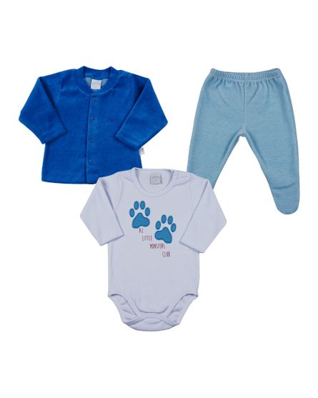 Conjunto-Bebe-Plush-Suedine-Little-Monsters-Azul-18800