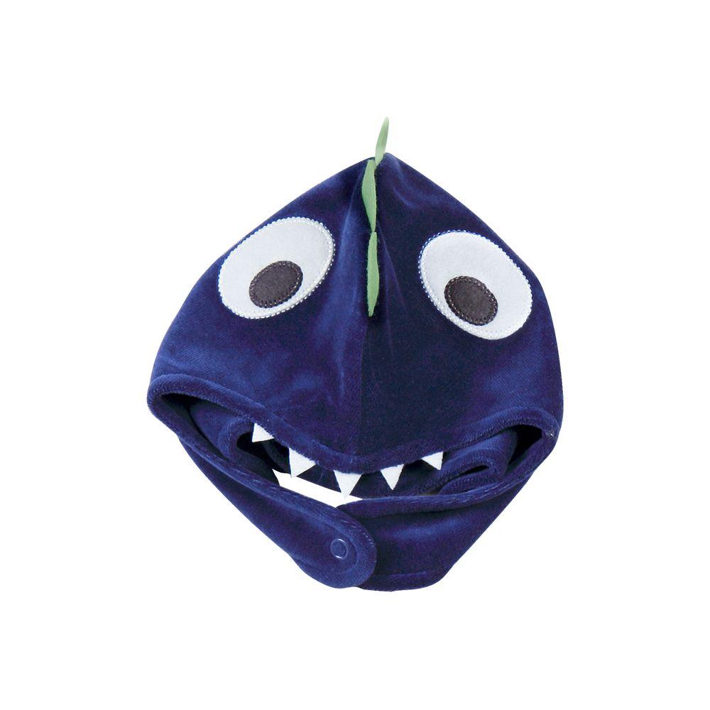 anozero · LINHA BEBÊ · Touca · Touca-Bebe-Plush-Dinossauro-Azul-Jeans-19202 1fa1a15f2d7