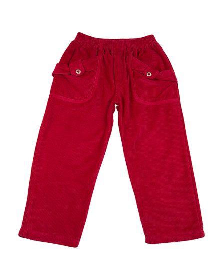 Calca-Infantil-de-Plush-Cotele-Feminina-Detalhe-Botao-Vermelho-5511