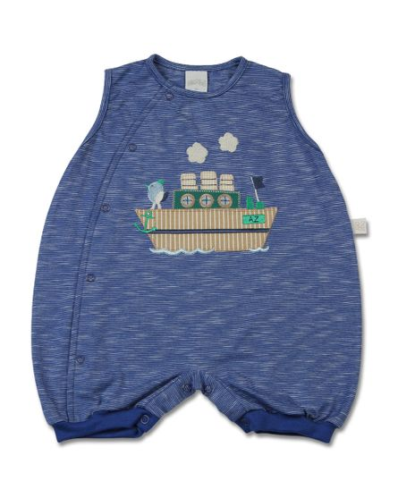 Macacao-Bebe-Malha-Listrada-Guarda-do-Embau-Navio-com-Passaro-Azul-10808