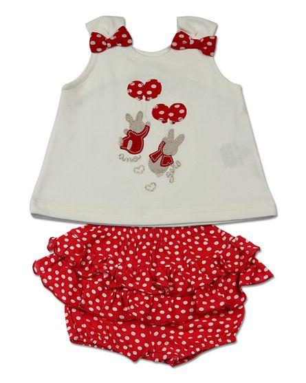 Conjunto-Bebe-Cotton-e-Viscolycra-Estampa-Bolinhas-Coelhinhos-Vermelho-13301