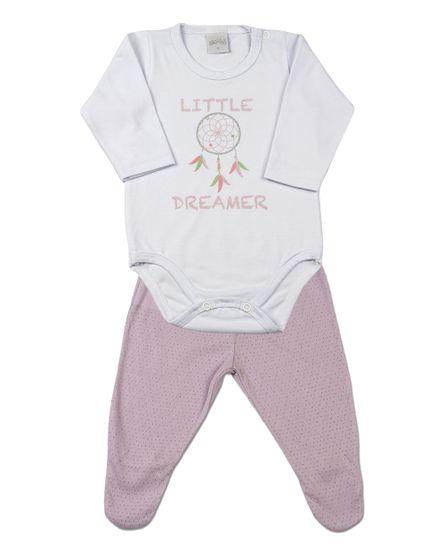 ano-zero. LINHA BEBÊ   Pijama. 50% · Pijama Beb  234  Cotton e Trabalhado  Mudi Little Dreamer - Lilas 523f96e3fe9
