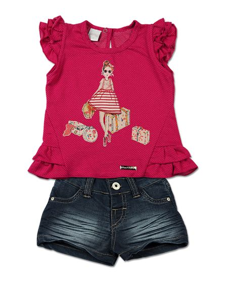 Roupa-Infantil-Conjunto-Malha-Praia-Brava-e-Indigo-menina-Vermelho-23503