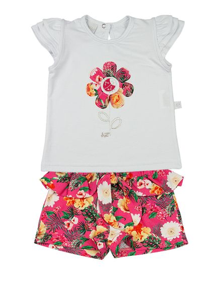 Conjunto-Infantil-Cotton-e-Malha-Estampa-Digital-Tropical-Flor-com-Joaninha-Pink-23304