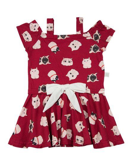 Vestido-Infantil-Malha-Estampa-Digital-Gatinhos-com-Lacinho-Vermelho-23907