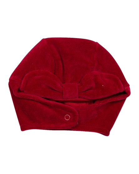 Roupa-Bebe-Touca-Plush-Basica-com-Protetor-de-Orelhinha-Vermelho-19210