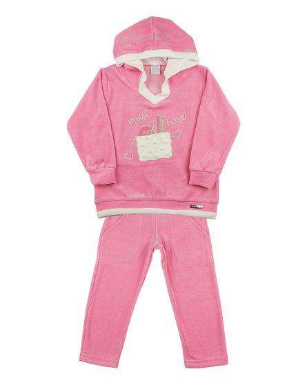Conjunto-Infantil-Plush-Must-Have-Rosa-Escuro-23403