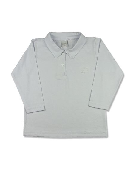 Camiseta-Infantil-Manga-Longa-Gola-de-Malha-Branco-24612