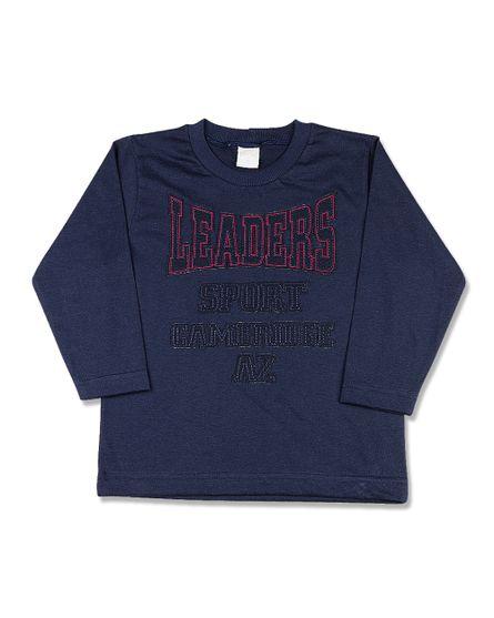 Camiseta-Infantil-Meia-Malha-Leaders-Sport-Marinho-24614