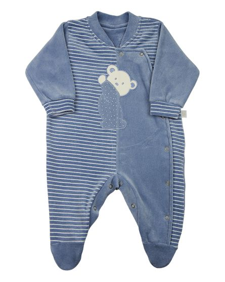 Macacao-Bebe-Plush-Liso-e-Listrado-Pencil-Ursinho-Azul-11819