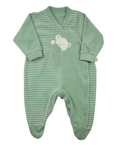 Macacao-Bebe-Plush-Liso-e-Listrado-Pencil-Ursinho-Verde-11819