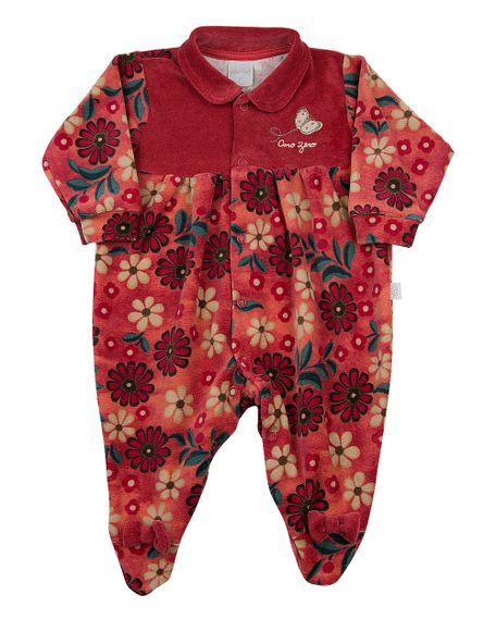 Macacao-Bebe-Plush-Estampado-Floral-Borboleta-Vermelho-11235