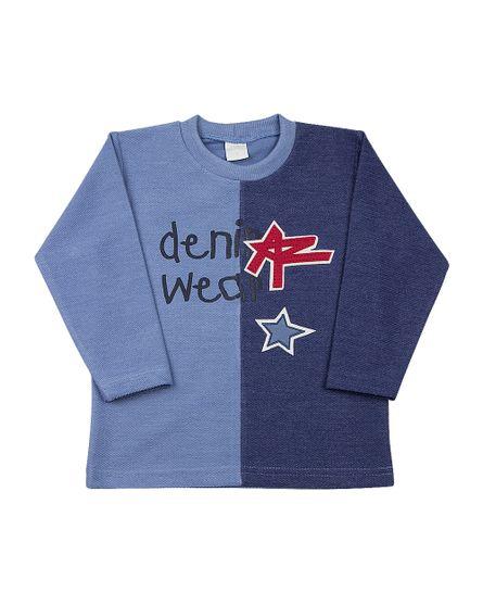 Camiseta-Infantil-Malha-Etno-Denim-Wear-Azul-24514