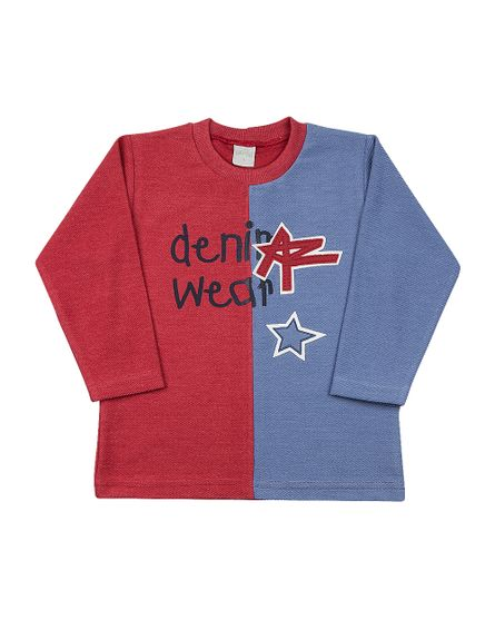 Camiseta-Infantil-Malha-Etno-Denim-Wear-Coral-24514