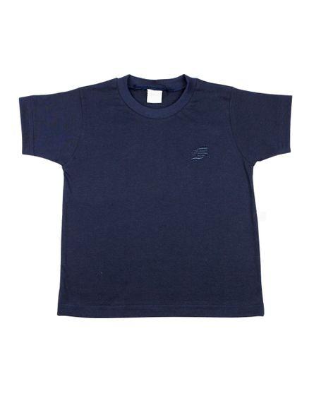 Camiseta-Infantil-Meia-Manga-Basica-Marinho-24623