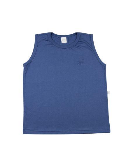 Camiseta-Infantil-Manga-Cavada-Basica-Azul-Jeans-24624