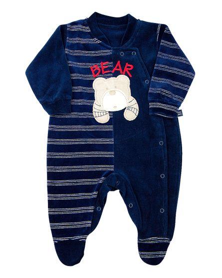 Macacao-Bebe-Plush-Liso-e-Listrado-Enfant-Bear-Marinho-11818
