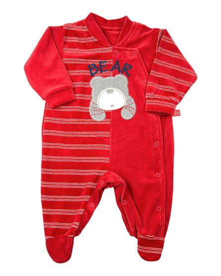 Macacao-Bebe-Plush-Liso-e-Listrado-Enfant-Bear-Vermelho-11818