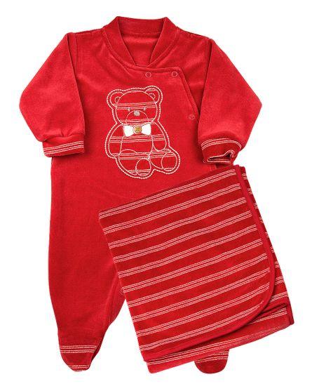 Saida-de-Maternidade-Plush-Listrado-Enfant-Ursinho-Vermelho-12006
