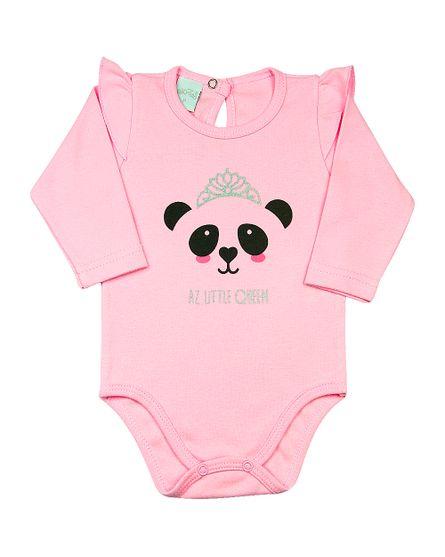 669c67ebb 26,39 % · Body Bebê Suedine Panda AZ Little Queen - Rosa