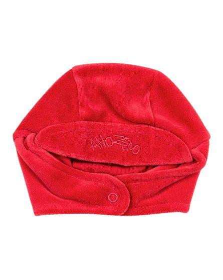 Roupa-Bebe-Touca-Basica-com-Protetor-de-Orelhinha-Vermelho-19220