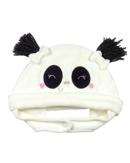 Roupa-Bebe-Touca-Plush-Ursinha-Panda-Natural-19230
